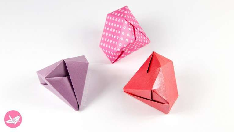 New Origami Rose Cube Instructions Best Photos For World