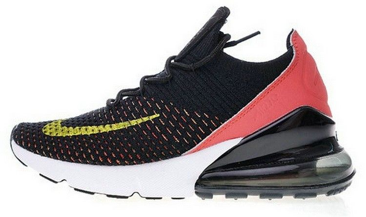 low cost b04da 3d52a Nike Air 270 Flyknit Nero Rosso Bianca AH6803 003
