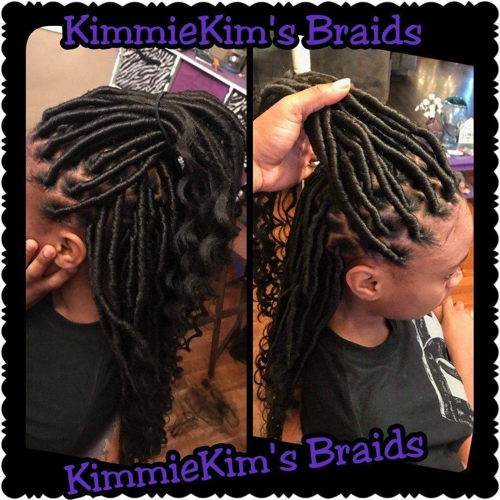 Goddess Faux Loc Hair Styles Braids Hair