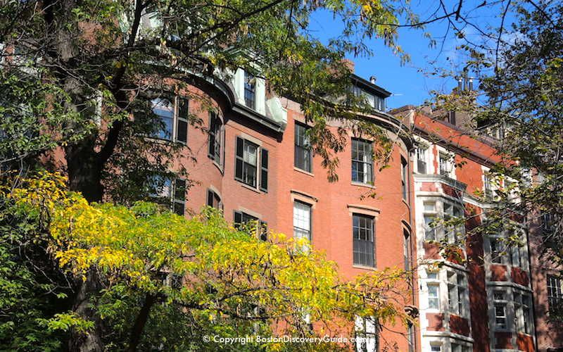 Beacon Hill Mansions Early October Boston Things To Do