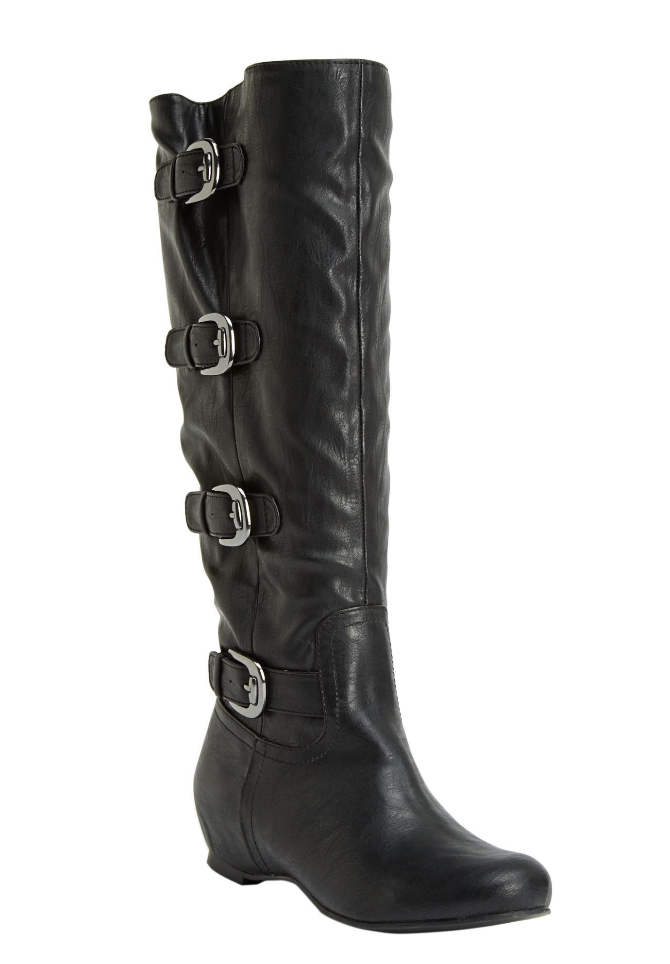 7d7e7b9eeb863 Frankie Wide Calf Boot by Comfortview® | Plus Size Shoe & Boot Sale |  Jessica London