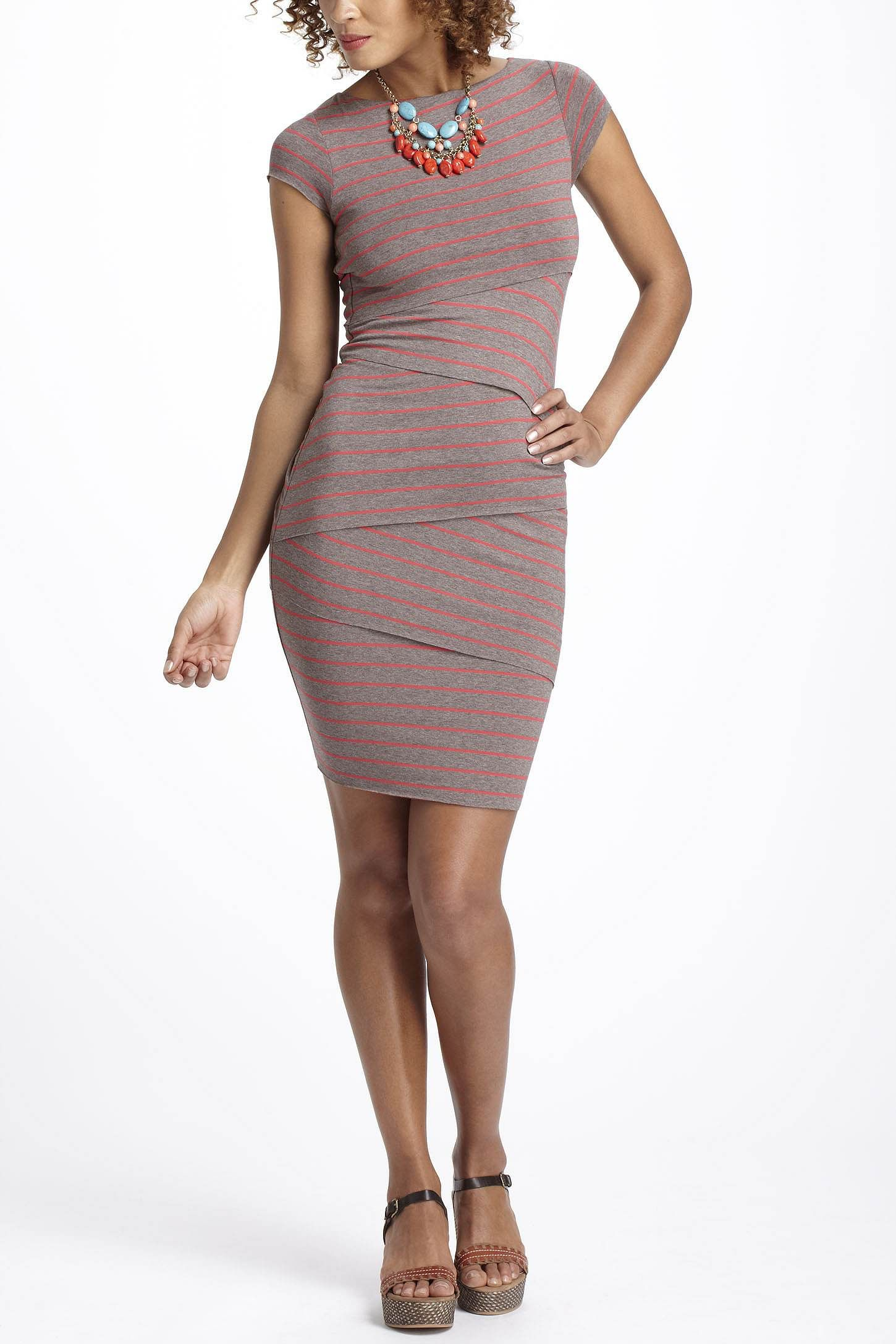 $178 - Smokin'! -- Cap Sleeve Column Dress - Anthropologie.com
