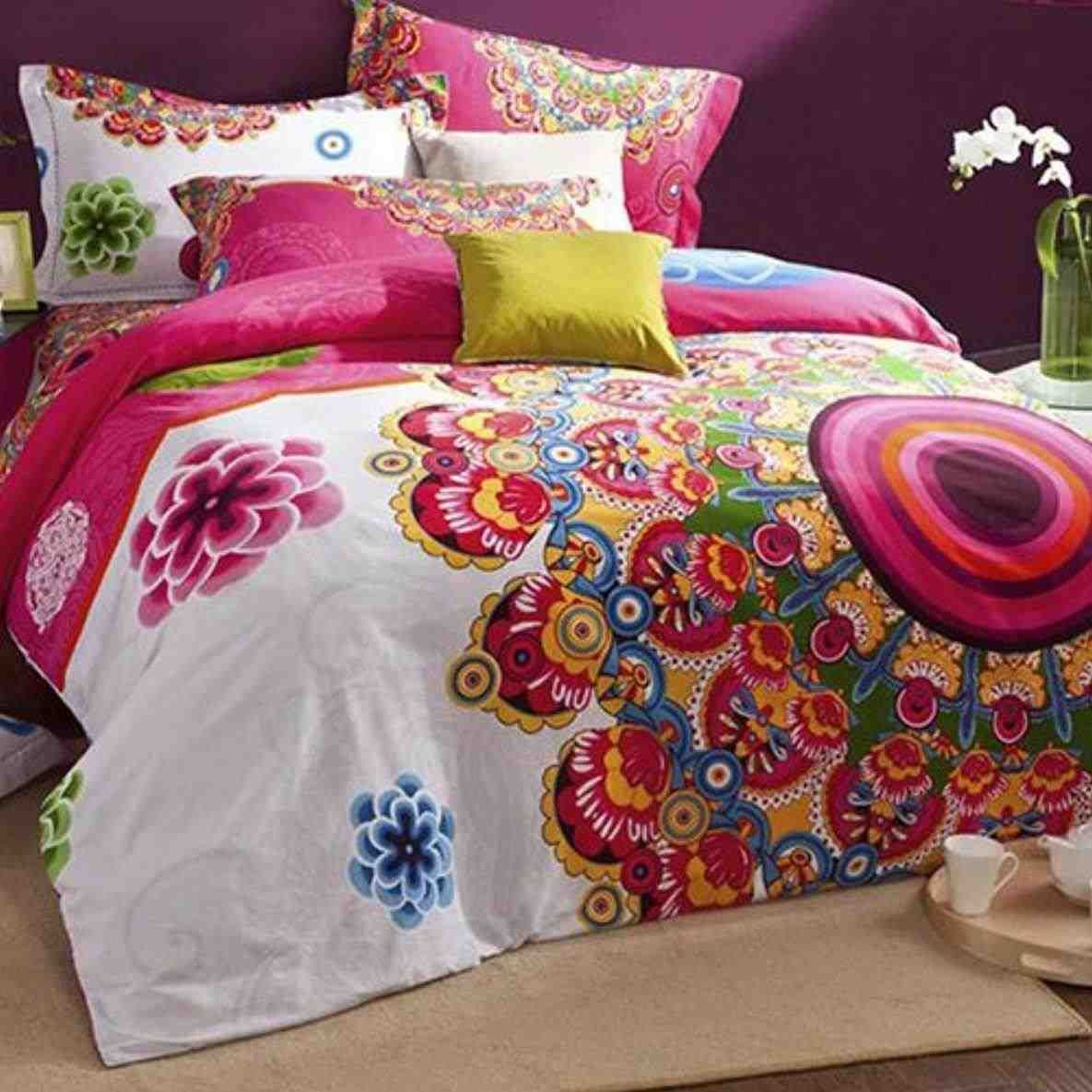 This Colorful Bedding For Adults Colorful Bedding For Adults Clearwater Comforter Set Multi Cool Baby Boho Duvet Red Bedding Sets Duvet Cover Sets Bohemian