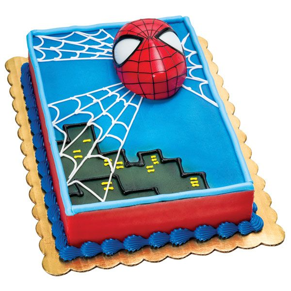 Admirable Spiderman Light Up Eyes With Images Spiderman Cake Publix Birthday Cards Printable Opercafe Filternl
