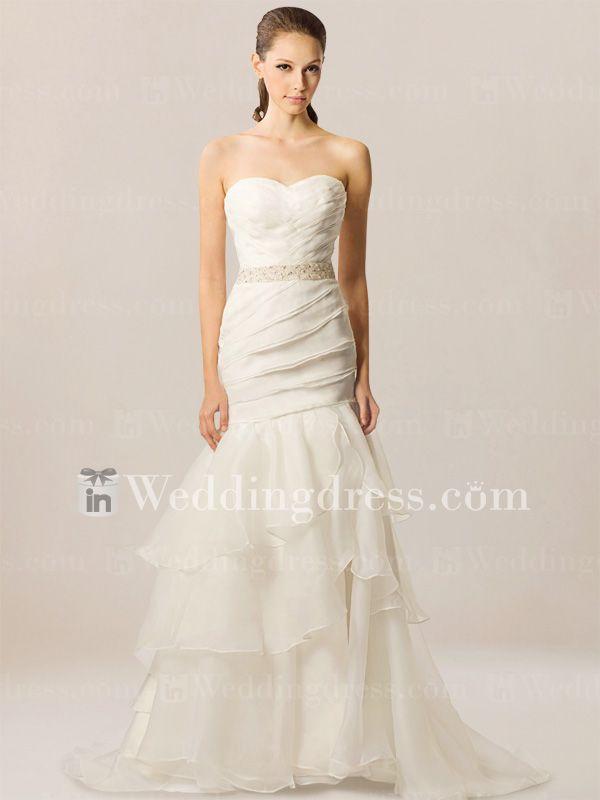 Sweetheart Informal Beach Wedding Gown BC191 | Beach weddings, Gowns ...