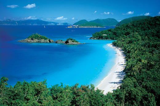 Honeymoon Bay, St. John VI  My favorite place so far in the Caribbean