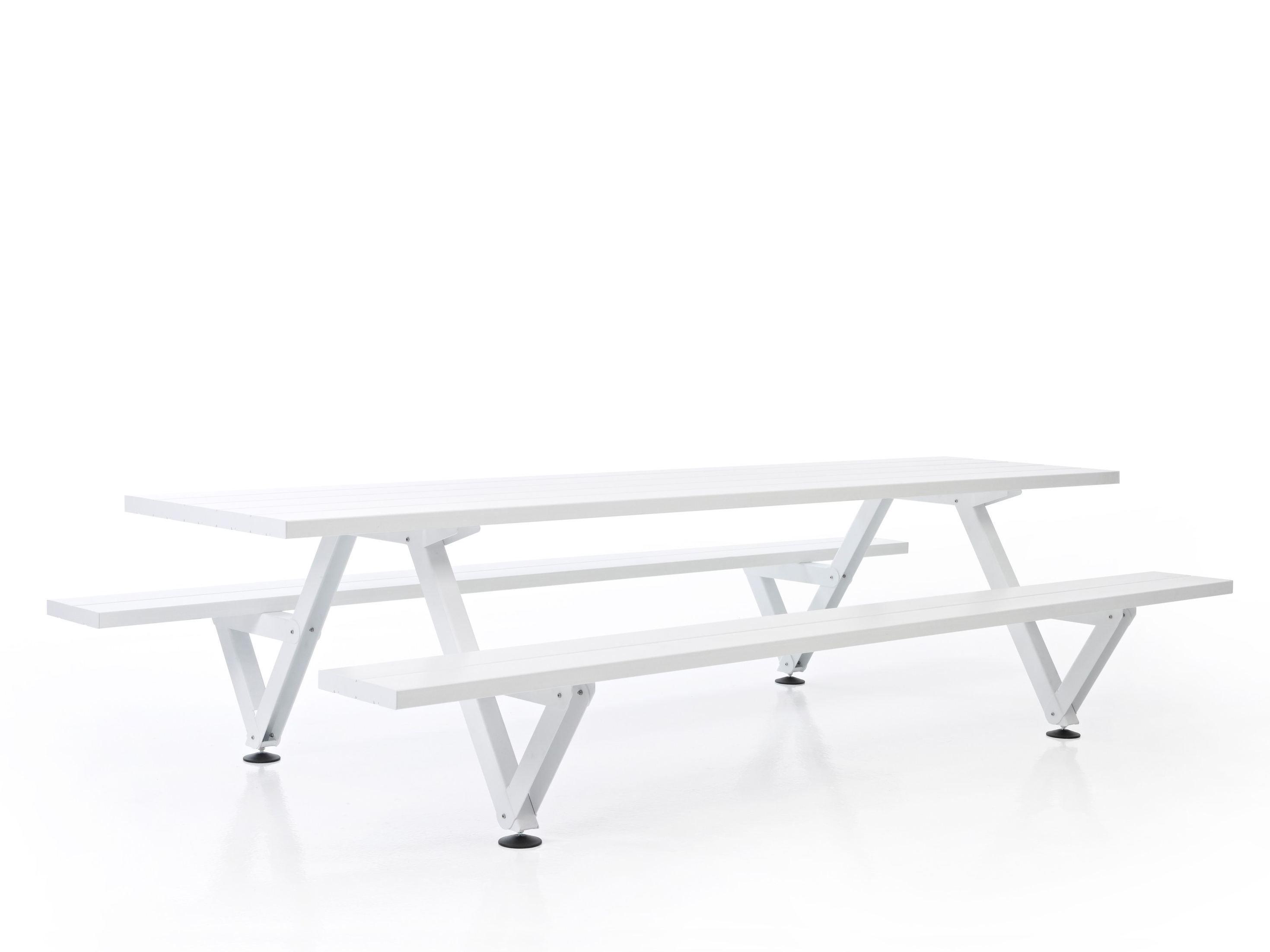 Rectangular Garden Table Marina Collection By Extremis Design  # Mobilier Jardin Zebra