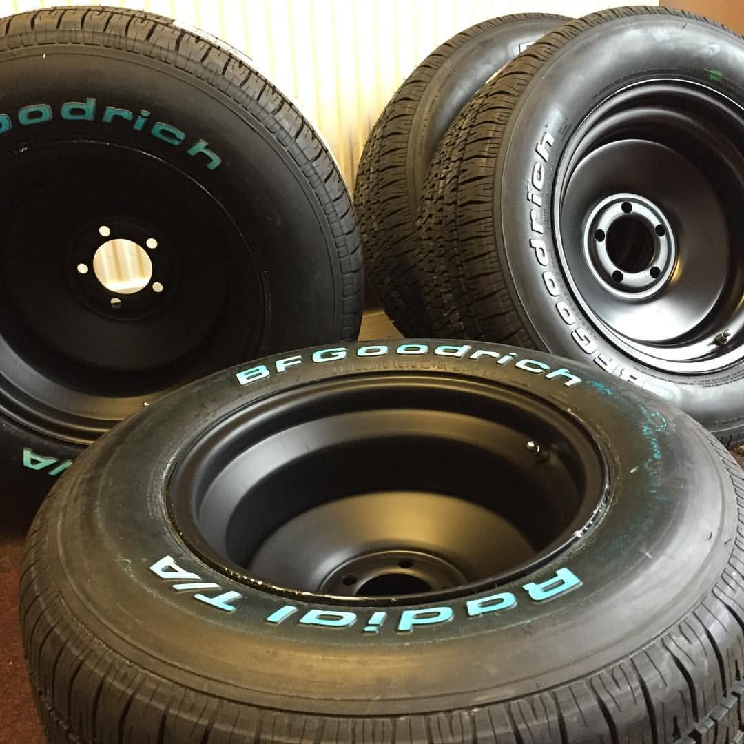 Staggered 15x8 And 15x10 Us Wheel Rat Rods Wrapped In Bf Goodrich Radial T X2f A 39 S Going Out Today Thes Northhantstyres Rat Rod Wheel Wheels And Tires