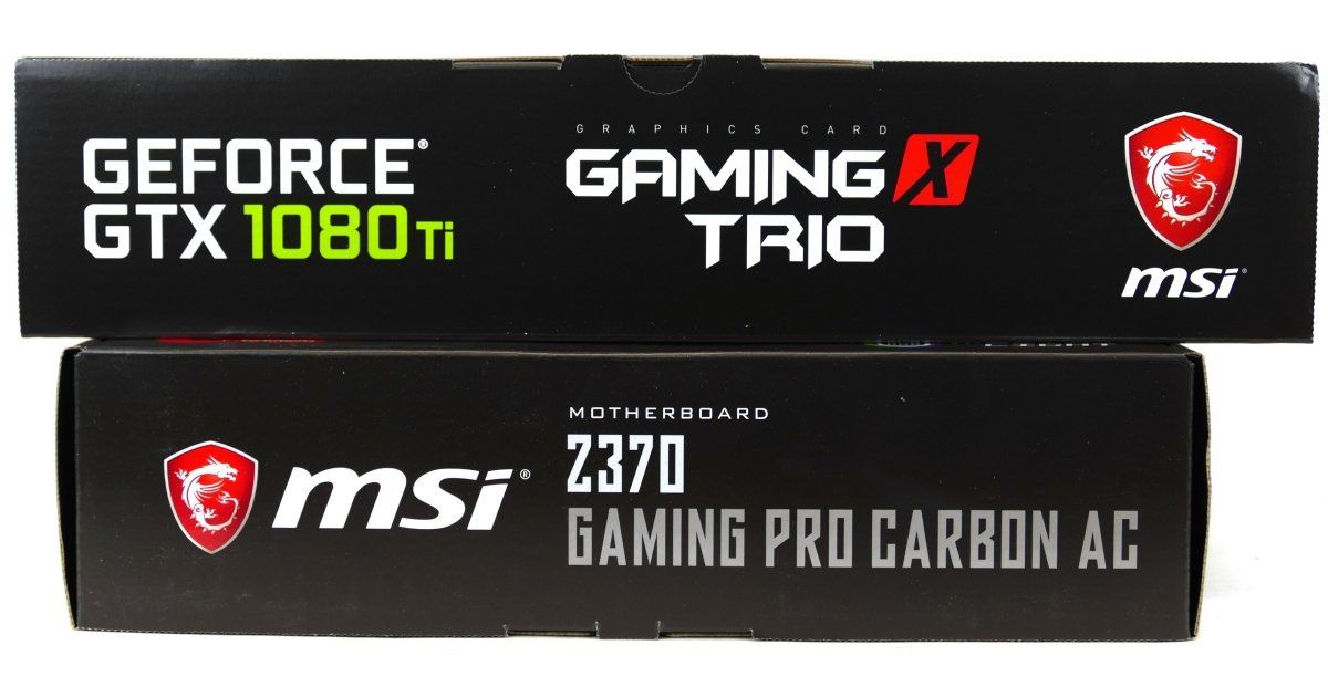 Msi Z370 Gaming Pro Carbon Ac System Build Guide Ac System Games Company Logo