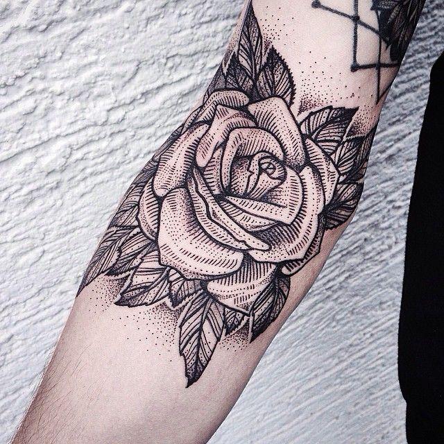 Rose #tattoo Sala de estar Pinterest Tatuajes, Rosas y Flores - tatuajes de rosas