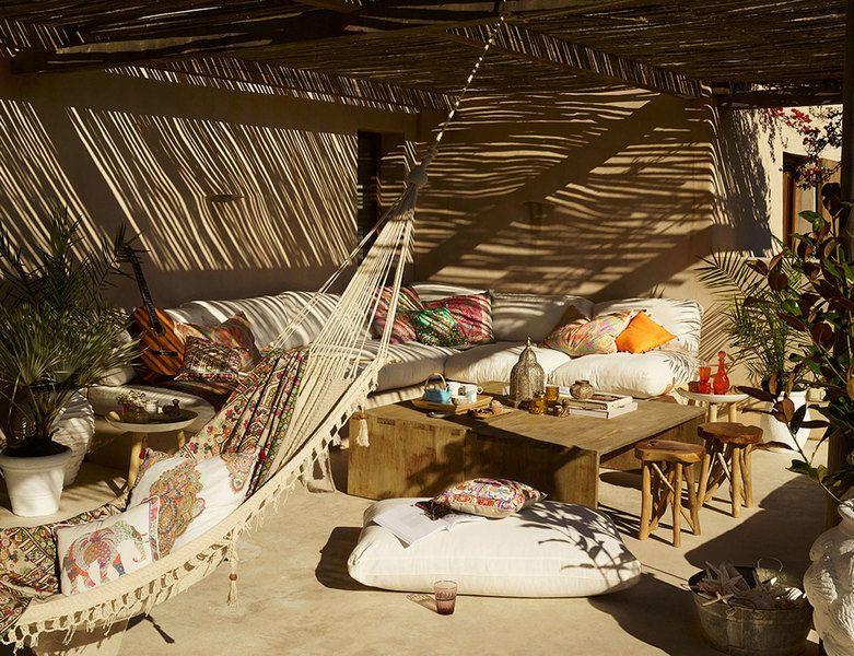 Sommerfeeling Pur: Der Boho Look Für Balkon Und Garten