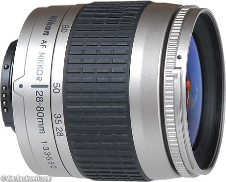 Nikon 28 80mm F 3 3 5 6g Nikon Lenses Nikon Best Nikon Lenses