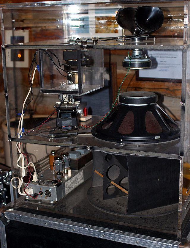leslie speaker glass and transparent loudspeakers luidspreker en muziek. Black Bedroom Furniture Sets. Home Design Ideas