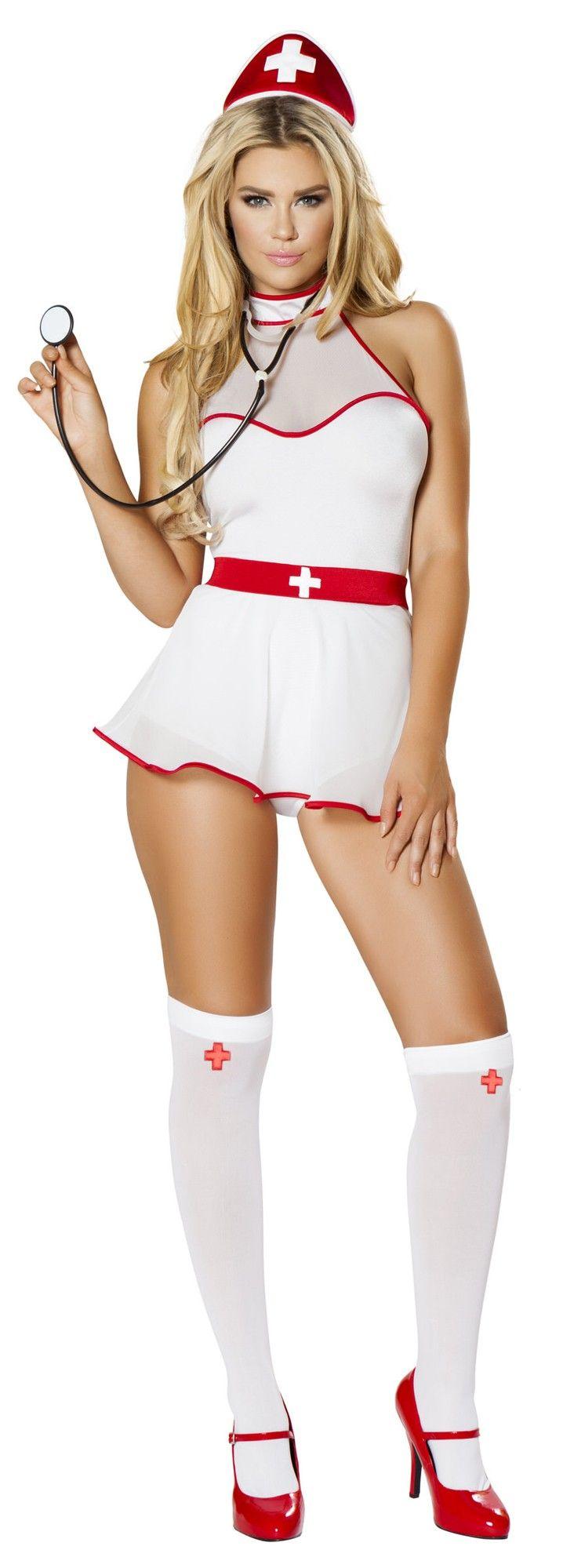 Sexy Naughty Nurse Uniform Adult Role Play Costume Fancy