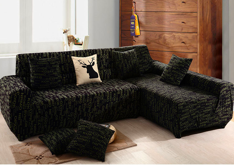 Winter Plus Nap Spandex Stretch Letter Skid Proof Sofa Cover Big Elasticity 100 Polyester Sofa Furniture Cover Slip Covers Couch Sofa Covers Slipcovers