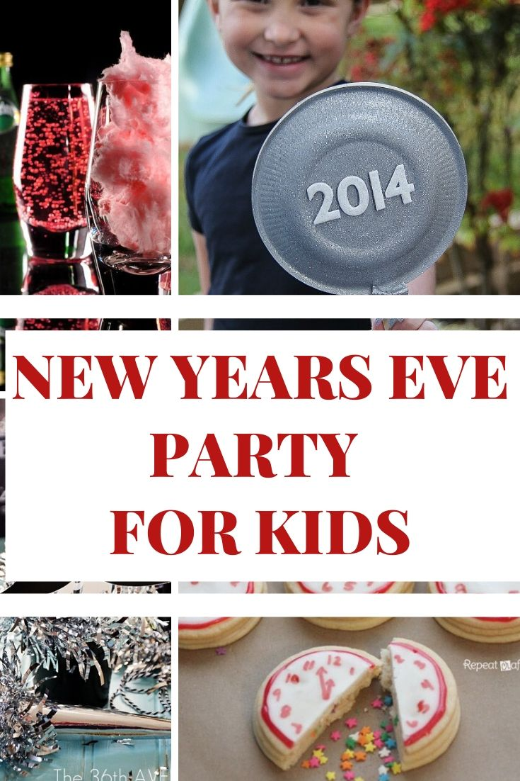 New Year's Eve Party Ideas for Kids (Kid Friendly Food to ...