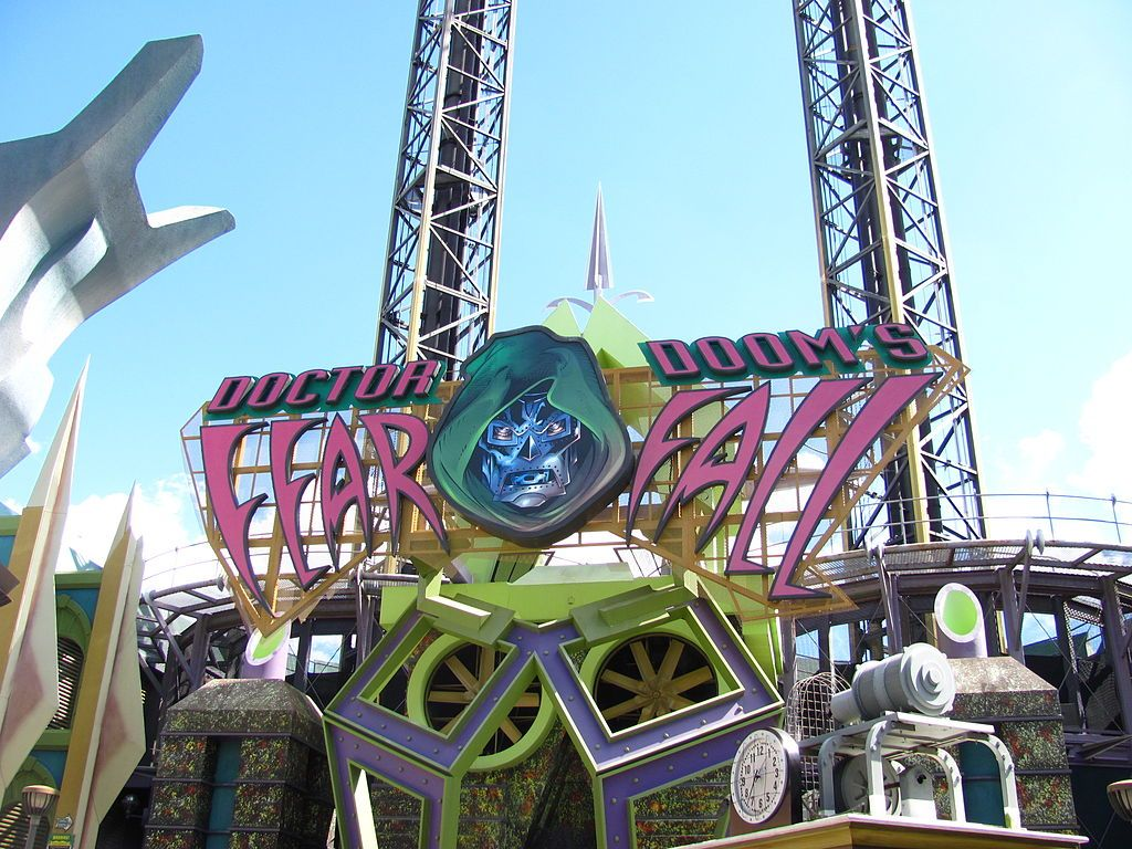 Doctor Doom's FearFall at Universal Orlando Resort