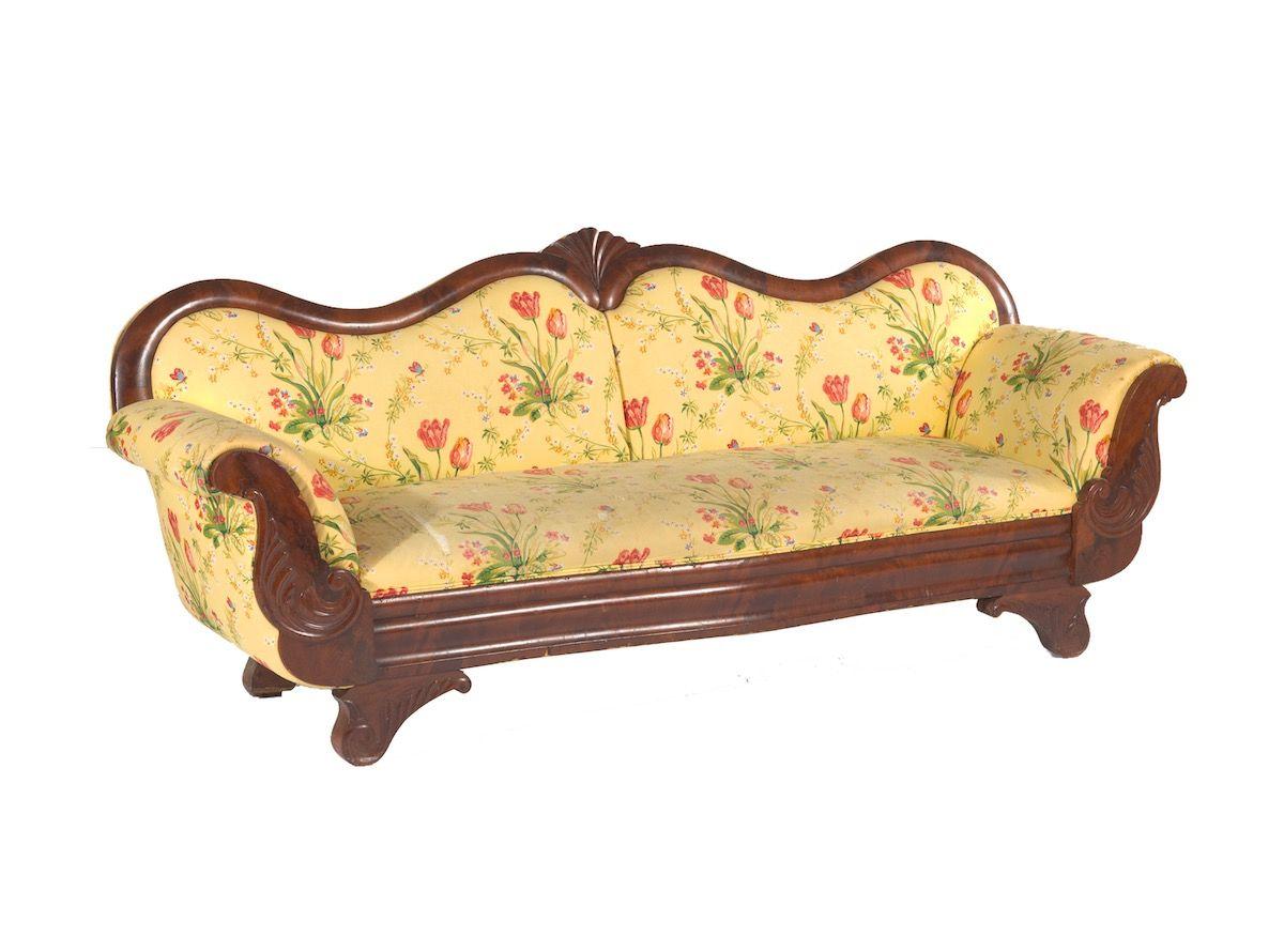 Vintage Barok Bankje.American Empire Sofa Sofa Sofa Set Beautiful Furniture