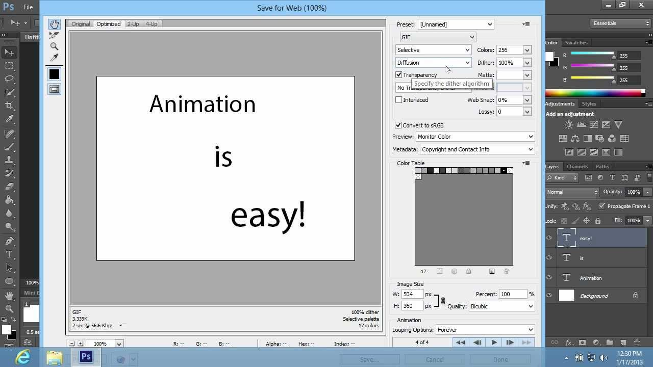 How to animate layers in cs6 gif making photoshop how to animate layers in cs6 gif making ccuart Choice Image