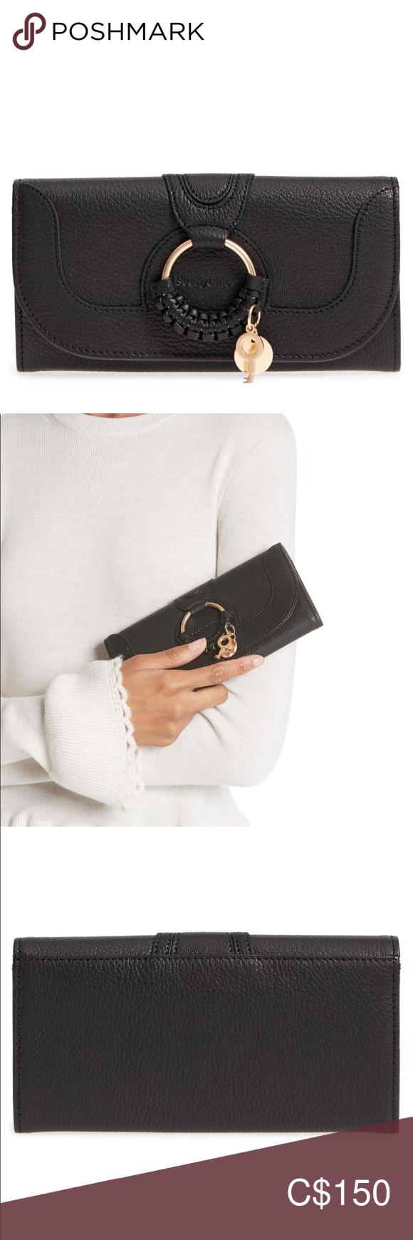 See by Chloe Hana Large Leather Wallet #seebychloe