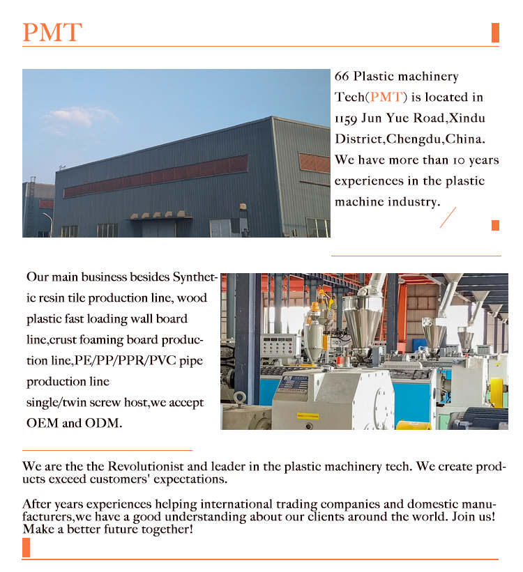 Wood Plastic Composited Product Making Machine Pvc Pe Pp Wpc Door Floor Decorative Profile Board Panel Ext Plastic Roofing Corrugated Plastic Roofing Extrusion