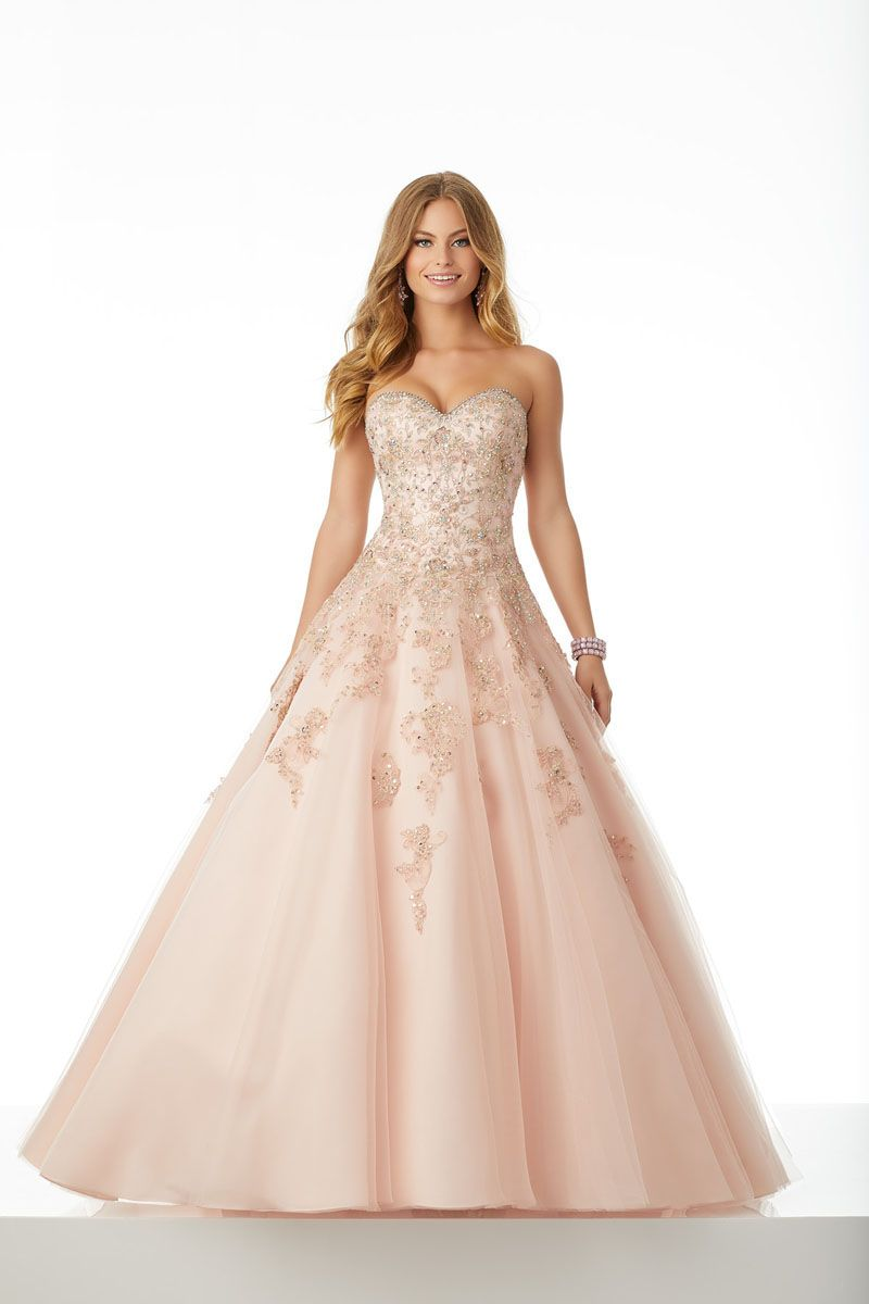 Princess Mori Lee Prom Dress