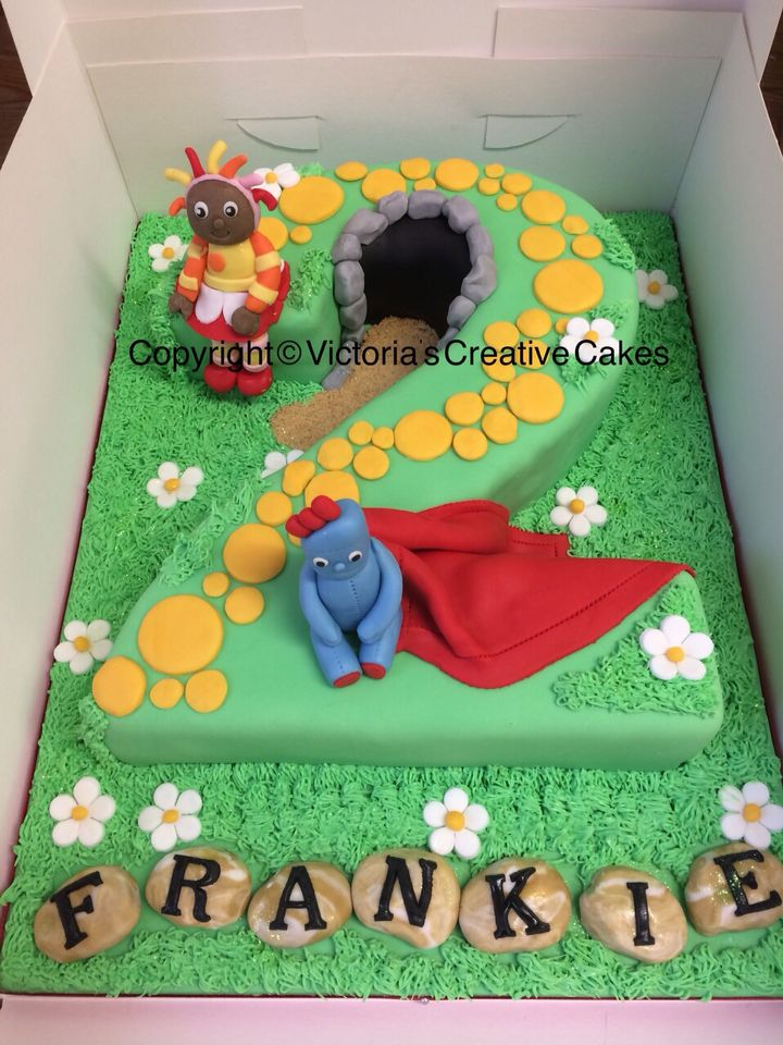 In the night garden number 2 cake   number 2 cakes   Pinterest ...