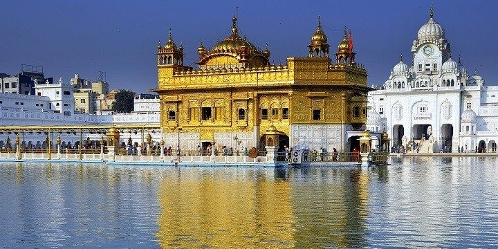 The Golden Temple, Amritsar, Sikhism, India