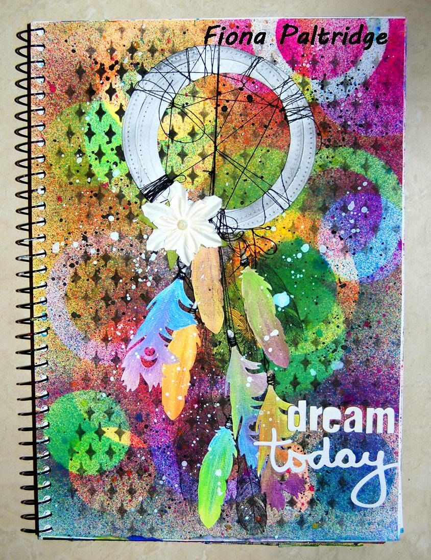 Scrap it With Attitude September Challenge by Fiona Paltridge