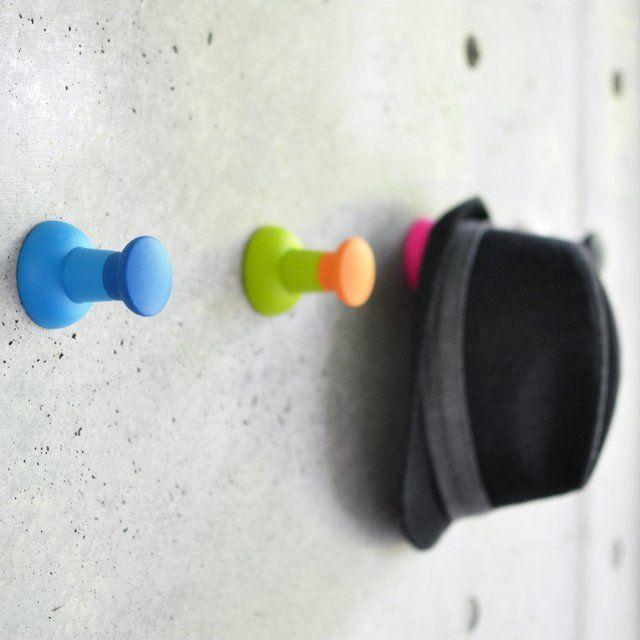 Push Pin Wall Hook Wall Hooks Push Pin Cool Stuff
