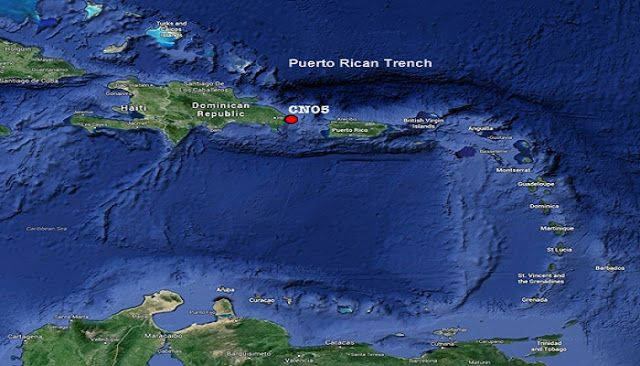 Puerto Rico Trench Puerto Rico Trench In 2019 Pinterest Trench