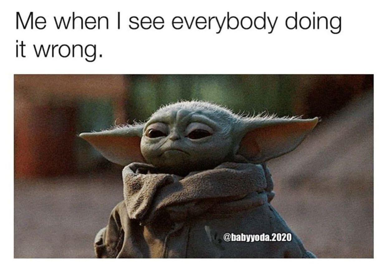 Pin By Victoria On Bb Yoda Yoda Funny Yoda Meme Star Wars Memes