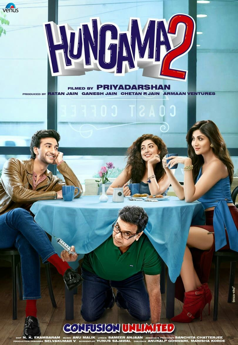 Hungama 2 New Poster Launch And Stars Confirmed In 2020 Hungama Movie New Poster Bollywood Movie
