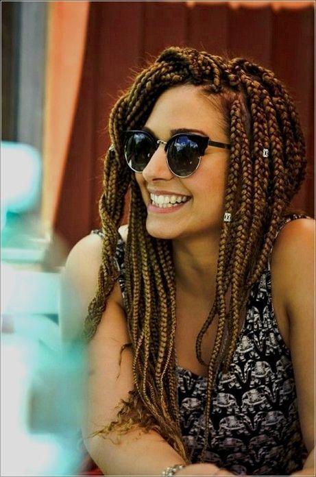 White Girl Box Braids Hairstyles To Try Immediately #braids #hairstyles #immedi – BoxBraidsMAXX