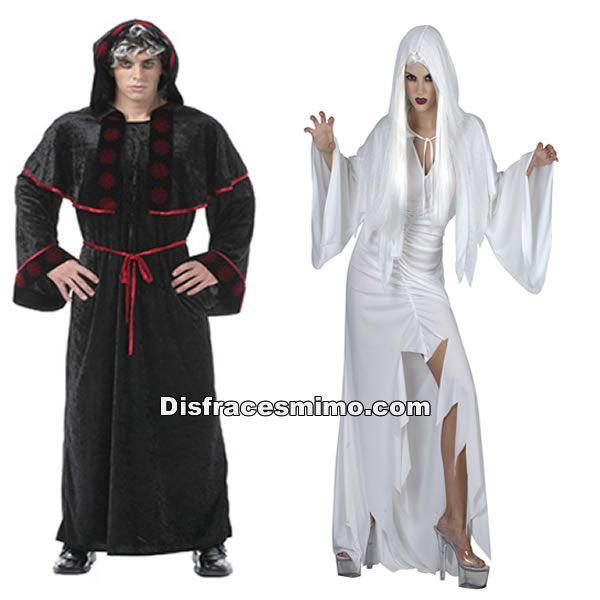 tu mejor disfraz de pareja espiritus hombre y mujer adultosstos disfraces de halloween es