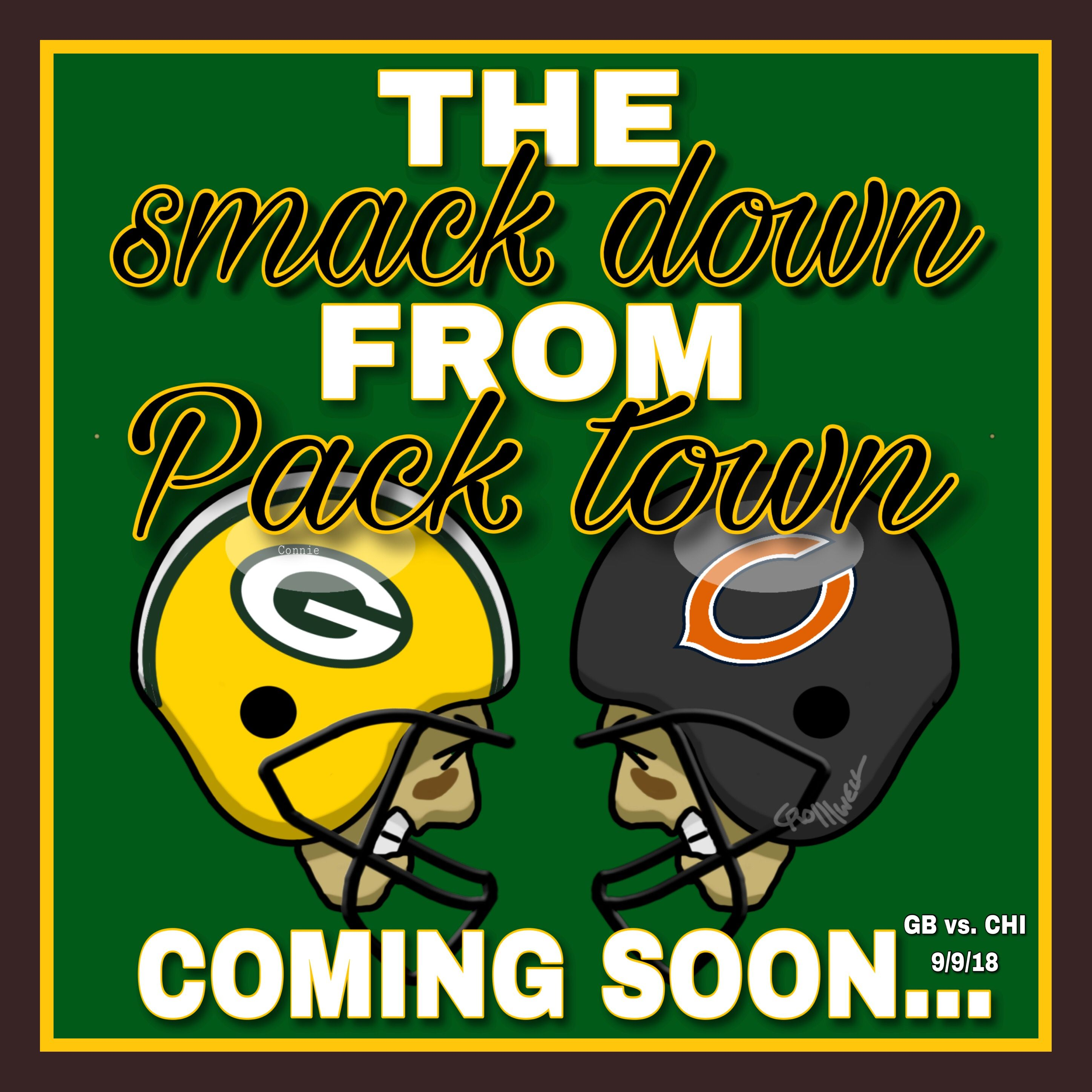 Home Opener Nomercy On Duh Bears Theysuck Green Bay Packers Logo Green Bay Packers Green Bay Packers Football