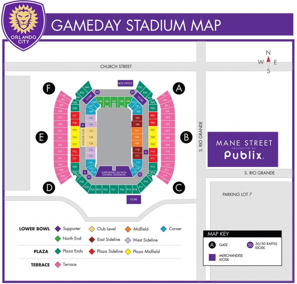 The Amazing In Addition To Stunning Citrus Bowl Seating Chart