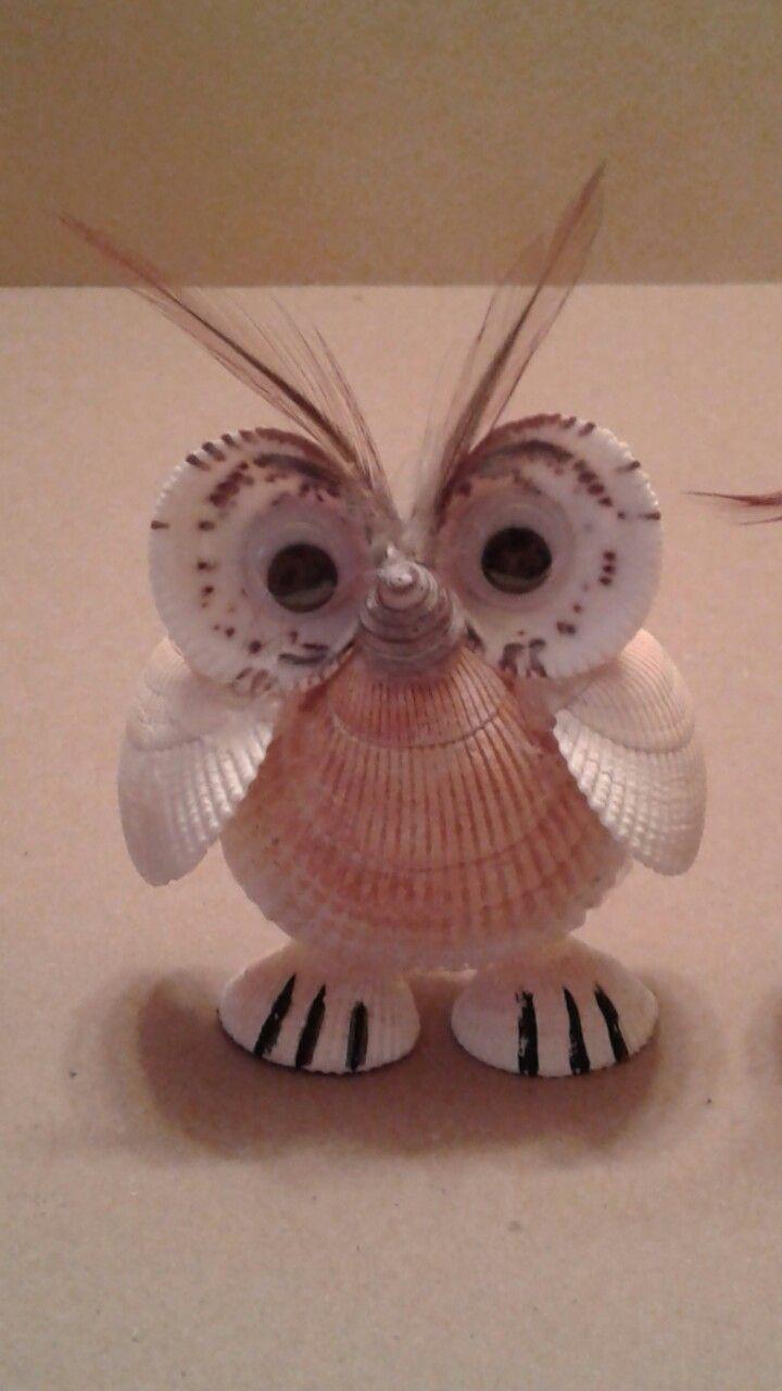 Seashell Owl