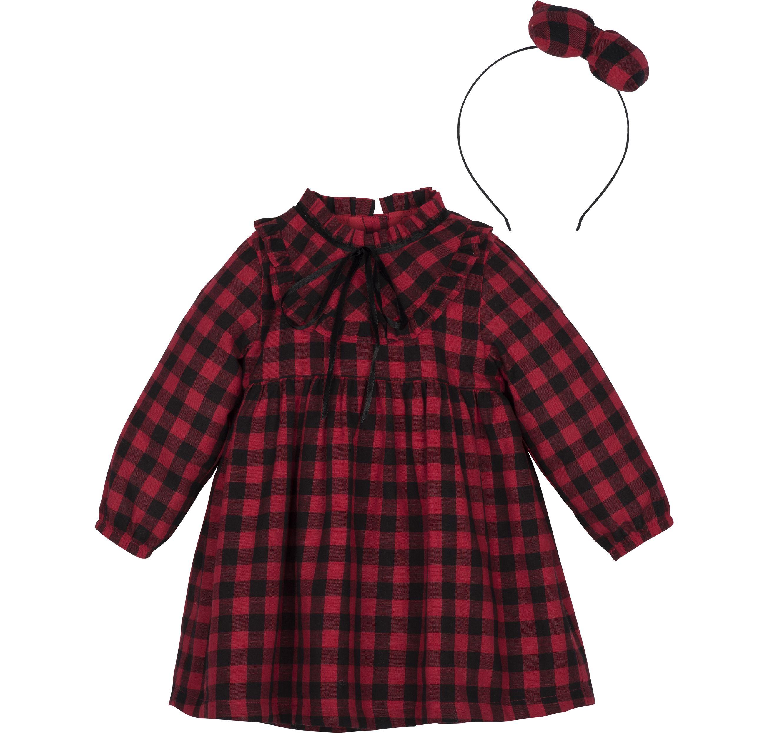 """""""Kleid mit Haarreif""""💓 #kindermode #kidsfashion #babymode #handmade #baby"""