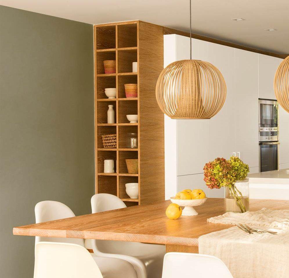 8 rincones que harán crecer tu casa | Estanterías, Cocinas y Crecer