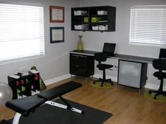 At home office and gym google search home gym office ideas