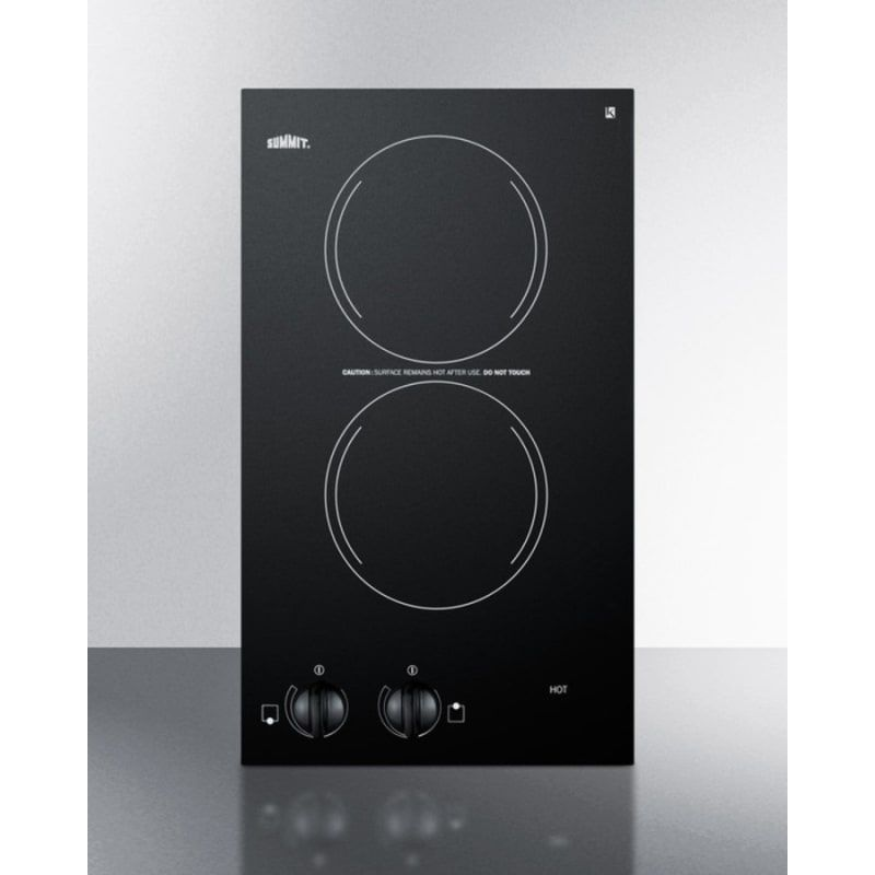 Summit Cr2220 With Images Electric Cooktop Ceramic Cooktop Glass Cooktop