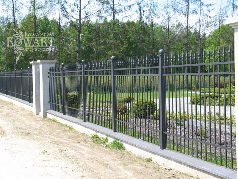 Ogrodzenie Kute 074 Fence Gate Design Fence Wall Design Fence Design