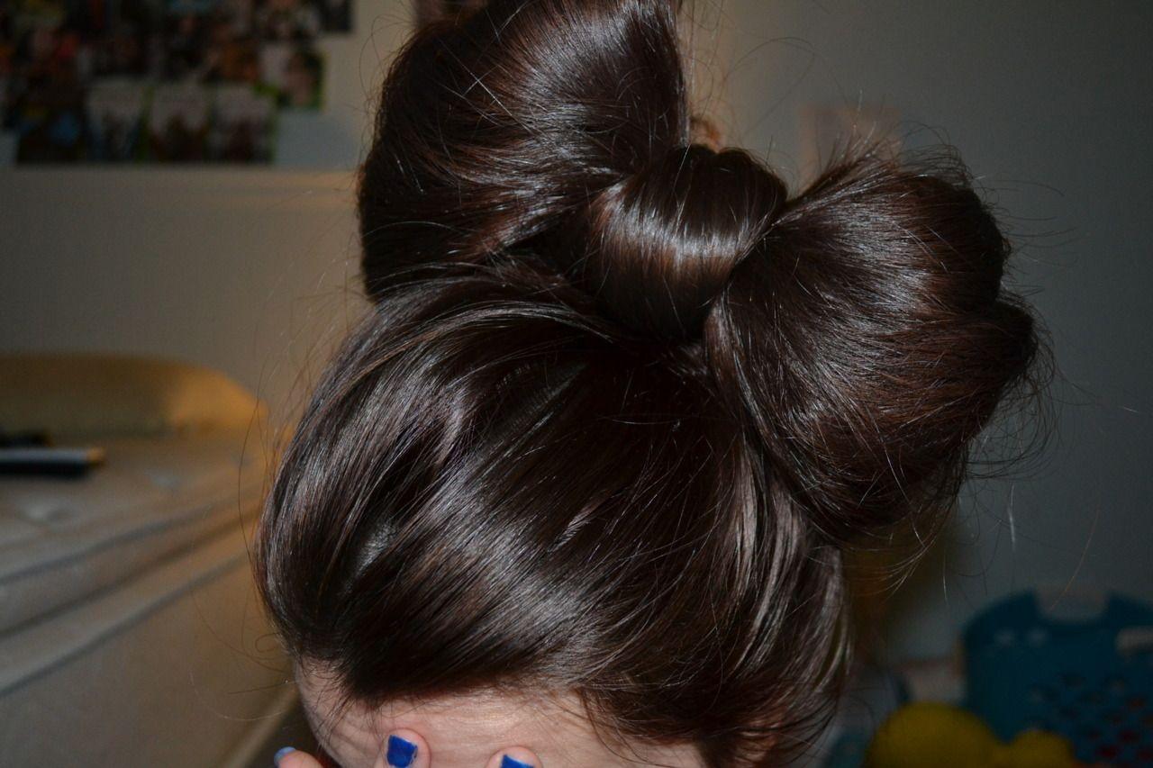 Bow hair hair pinterest hair style make up and hair make up