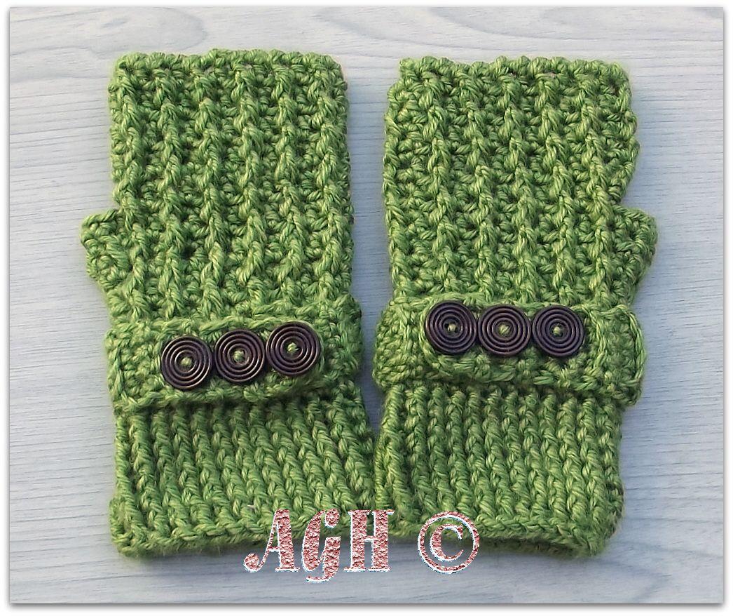 greenb.jpg | Travonna\'s Gloves | Pinterest | Patrón de ganchillo ...