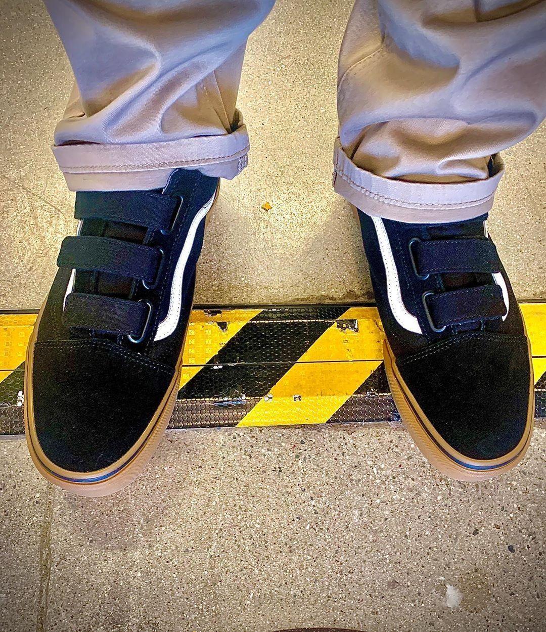 Vans Old Skool V Skate Shoe - Black