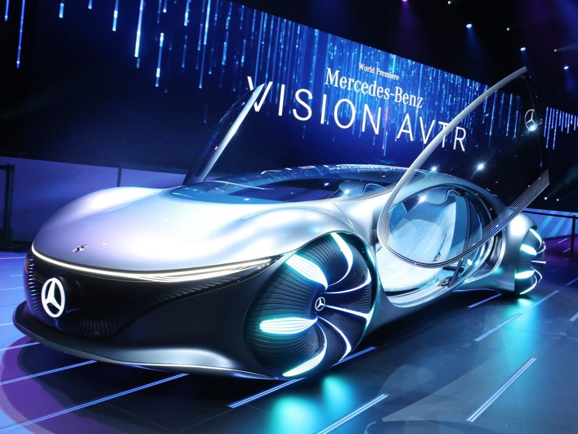 Ces 2020 Mercedes Vision Avtr Is Not Just A Car But A Creature From Avatar In 2020 Future Concept Cars Concept Car Interior Concept Cars
