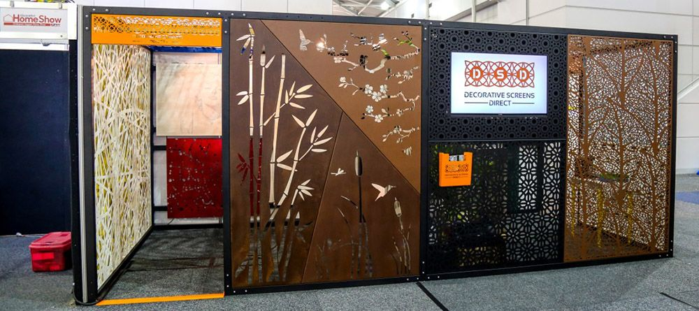 Laser Cut Home Show Display | Aa Metal Garden Items | Pinterest