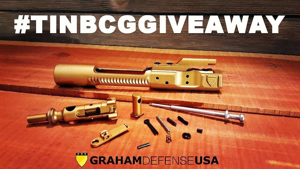 Click the link (up there) in our profile to enter the @grahamdefenseusa #tinbcggiveaway