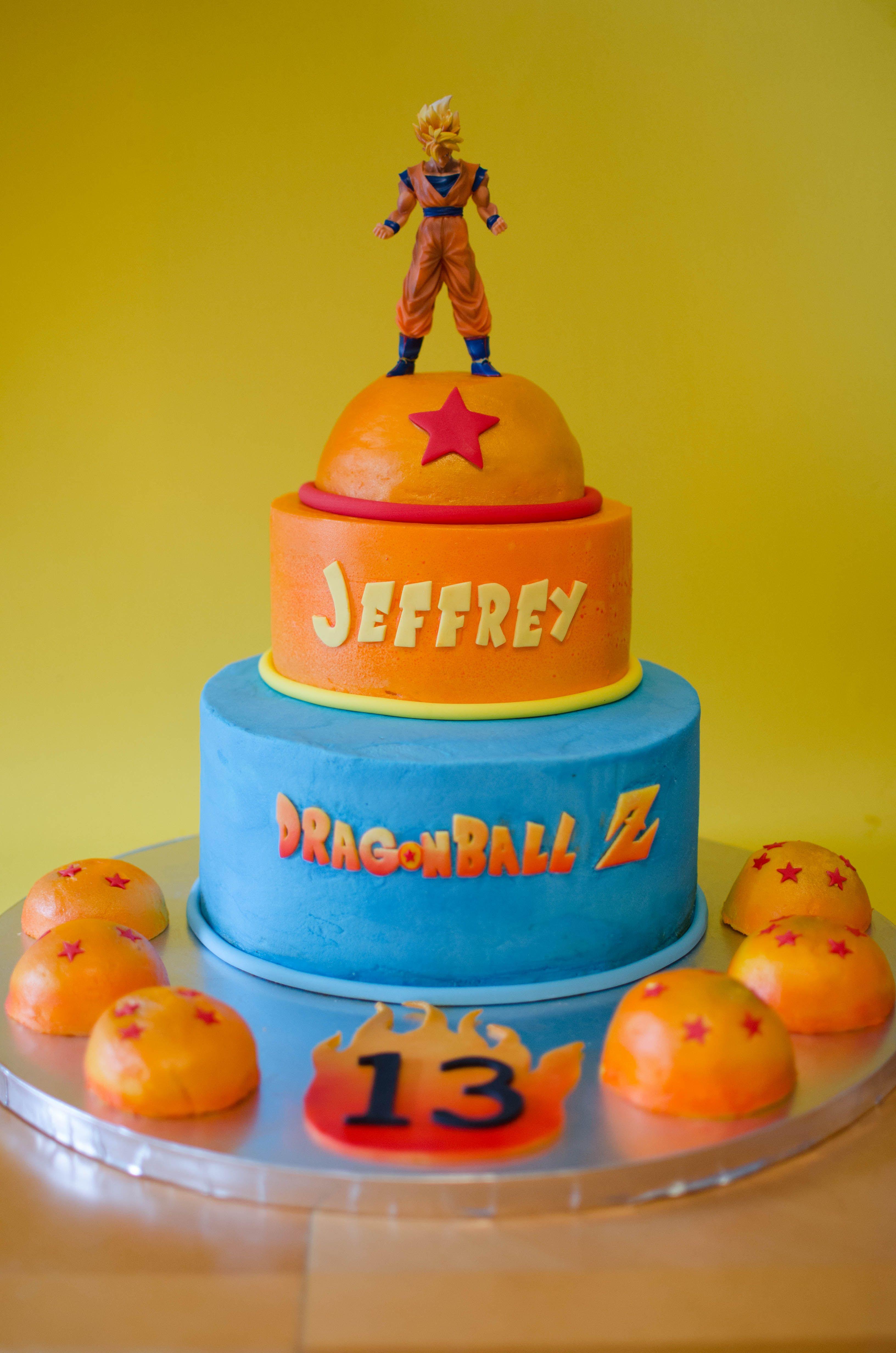 Dragon Ball Z Cake Decorations Dragon Ball Birthday Party Supplies  Google Search  Cakes